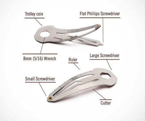 Multi Tool Hair Clip
