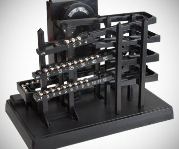 Time Machine Tabletop Clock