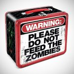 Zombie Warning Lunch Box