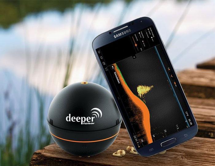 deeper smart portable fish finder | cool sh*t i buy - find cool, Fish Finder