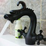 Dragon Shape Sink Faucet Tap