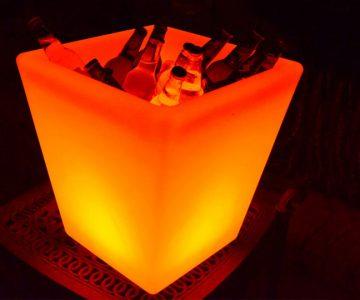 Fiji LED Ice Bucket Planter