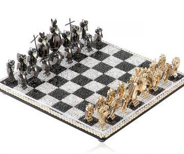 Jeweled Chess Set