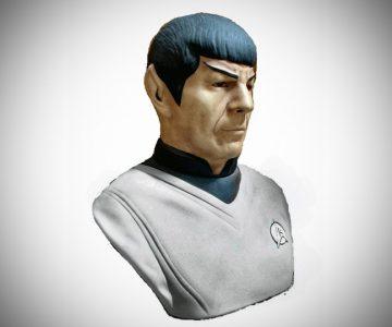 Star Trek MR Spock Decanter