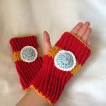 Iron Man Fingerless Gloves