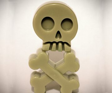 Skull & Crossbones Scented Soap