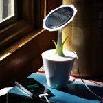 Solar Sunflower Charger