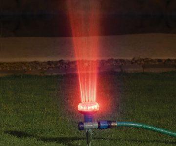 Water And Light Show Garden Sprinkler
