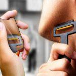 Carzor Pocket Credit Card Shaped Razor & Mirror