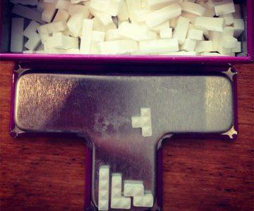 Tetris Tetrimino Mini Mints Tin