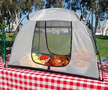 Food Protecting Picnic Size Tent