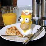 Simpsons Egg and Stamp Toast Set