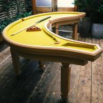 Banana Shaped Pool Table