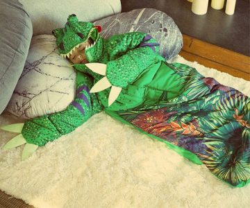 Chomposaurus Dino Glow to Sleep Sack