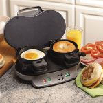 Dual Breakfast Sandwich Maker by Hamilton Beach