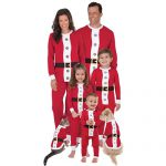 Santa Suit and Pajamas for the Whole Family