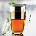 Asobu Tea Party Mug with Stainless Steel Infuser