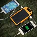 Levin Giant+ Solar Rechargeable Portable Battery Power Pack