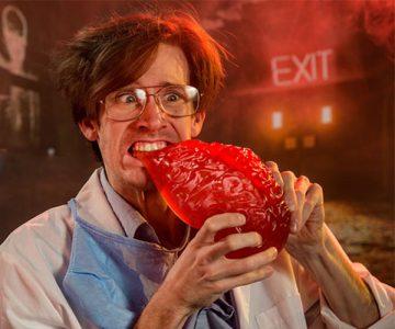 Giant Gummy Brain Candy