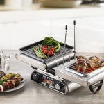 Foldable Electric Indoor Grill
