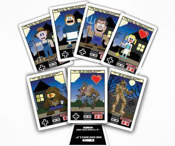 8-Bit Mafia and Werewolf Cards