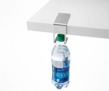 Space Saving Table Bottle Hanger
