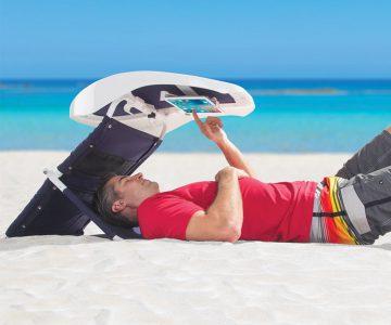Portable Sunshade Beachgoer's Reading Room