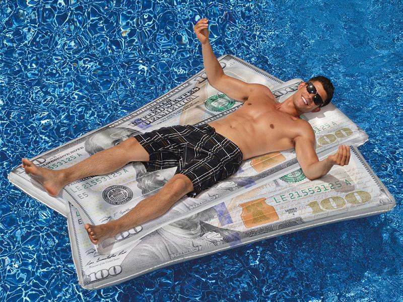 Cool Cash Float