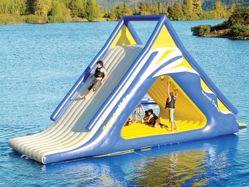 Gigantic Water Play Slide