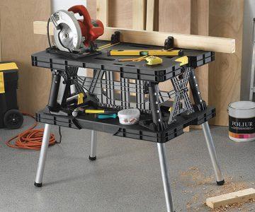 Keter Folding Workbench Work Table