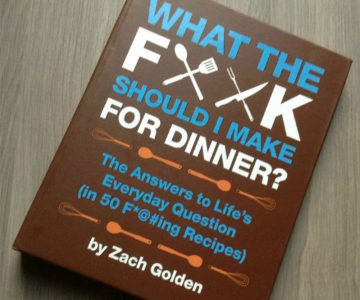 Book What the F*ck Should I Make for Dinner?