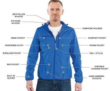 12 Feature Travel Jacket