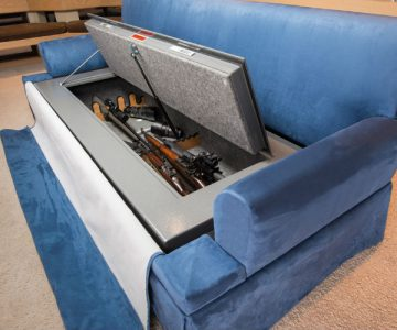 Couch Bunker Hidden Safe Sofa Bed