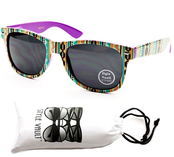 Aztec Tribal Sunglasses