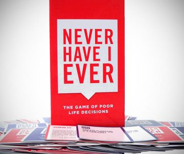 Never Have I Ever - the Card Game of Poor Life Decisions