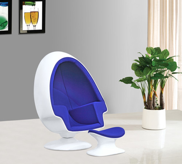 Egg Chair And Ottoman