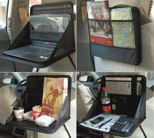 Foldable Car Seat Laptop Tray