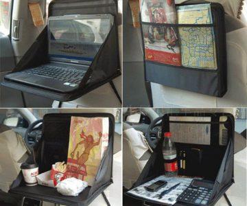 Foldable Car Seat Laptop Tray