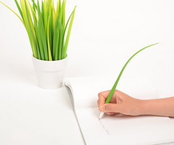 Grass shaped Blade Pen