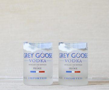 Grey Goose Vodka Glasses