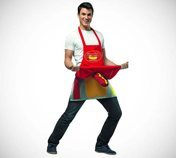 Hot Dog Vendor Apron
