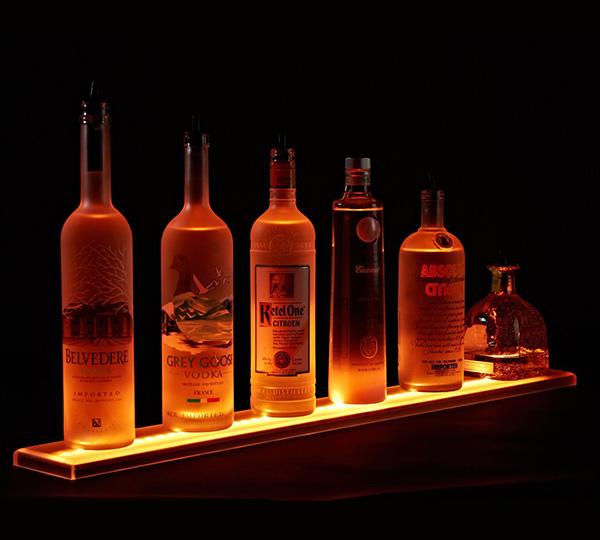 LED Bar Shelves