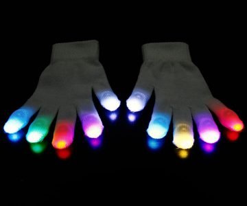 LED Light Gloves