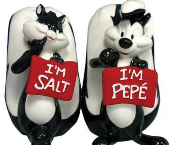 Looney Tunes Salt and Pepper Shakers