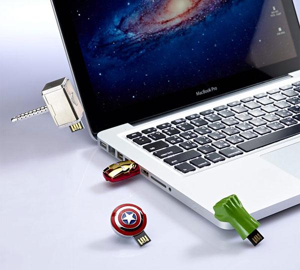 Marvel Avengers USB Series Sticks