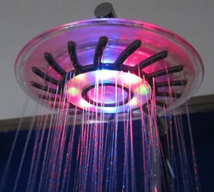 Rainbow Led Shower