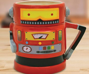 Retro Robot Coffee Mug