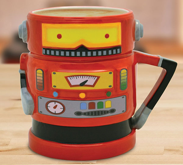 Retro Robot Coffee Mug