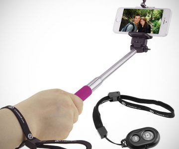 Selfie Stick with Bluetooth Remote
