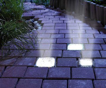 Solar Power Light Bricks